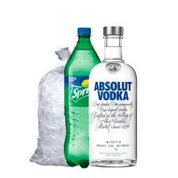 COMBO 7: Vodka Absolut