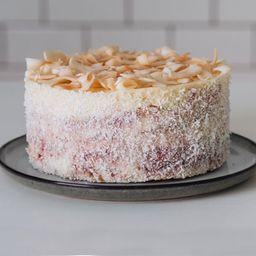 Torta de Coco & Frambuesa