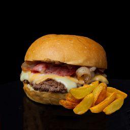Combo Garlic Burger