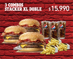 3x Combos Stacker Doble