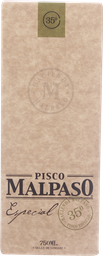 Pisco Mal Paso Especial 750 mL