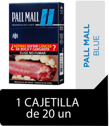 Pall Mall Blue Cigarrillos Cajetilla 20Un