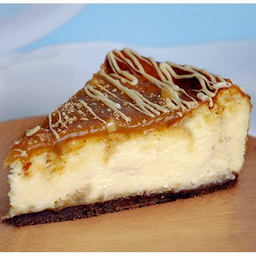 Cheescake Chocolate Blanco con Toffee y Almendras