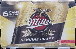 Cerveza Miller Lt Sixpack 355mL/u