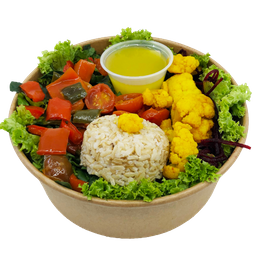 Brown Rice Vegan Salad