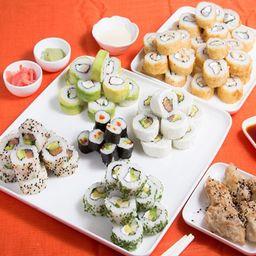 Promo Sushi 7 - 8 Rolls a Elección