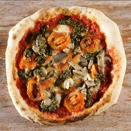 Pizza Funghi Caprese