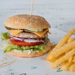 Fish Burger Reineta