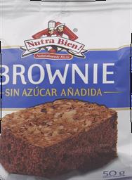 Brownie Sin Azucar Nutra Bien 50Gr