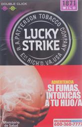 Cigarro Lucky Strike Wild Sq 20 Un