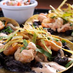 Tacos Camarón Tempura