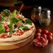 Pizza prosciutto familiar 34cm