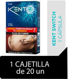 Kent Iswitch Click Cigarrillos Cajetilla 20Un