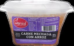 Carne Mechada Con Arroz Genial 380 Gr