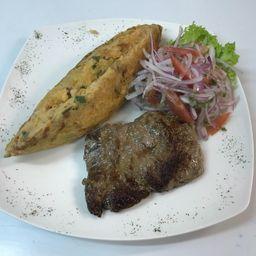Tacu-Tacu con Filete de Lomo