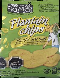 Chips Nat Platanos Salados Samai 75 Gr