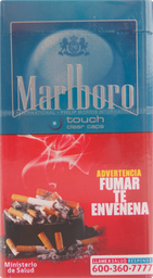 Cigarros Marlboro  Touch Clear Caps  20 U