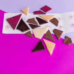 Mix Trozos de Chocolate 100g