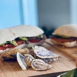 Sándwich Carne Mechada Italiano