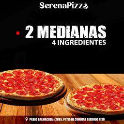 Pizza 4 Ingredientes