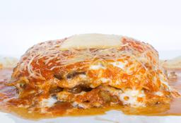 Lasagna Alcachofa Champiñón