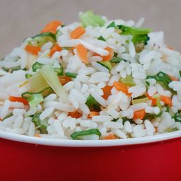 Arroz chaufan vegetariano