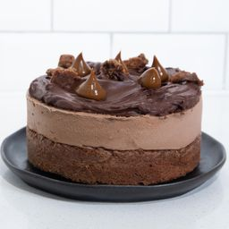 Cheesecake Chocolate Dulce de Leche