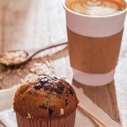 Café a Elección y Muffins Vainilla