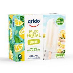 Paletas de Agua Frutales Limón