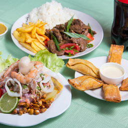 Menú Punta Hermosa y Bebida
