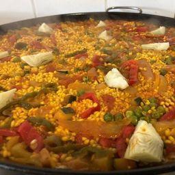 Paella Veggie