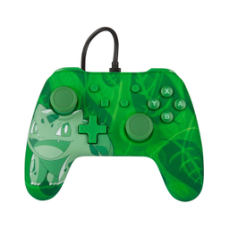 Wired Controller Overgrow Bulbasaur