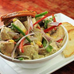 Ceviche de Champiñón (Vegan)