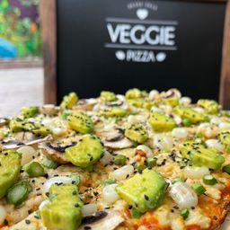 Pizza Jardin Real Familiar 30x40 Vegana