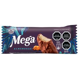Helado Mega Almendra Vainilla Con Cobertura de Chocolate 90 mL