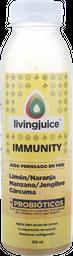 Jugo Prensado Livingjuice 350C, Immunity