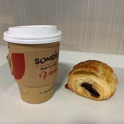 Promo Café con Pan de Chocolate
