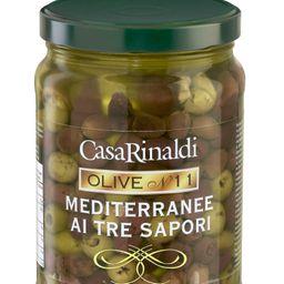 Aceituna mediterranea descarozada/3 sabores