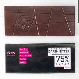 Darth Bitter 75% Cacao Vegano, 50g