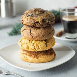 Pack 4 cookies (130 g)
