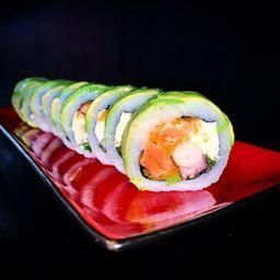 Roll Pulpo Sake Avocado