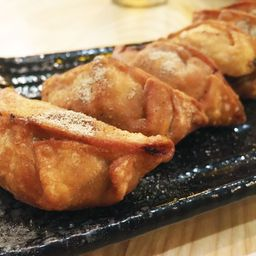 Gyozas Fritas de Carne