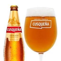 Cerveza Cusqueña 3 cl.