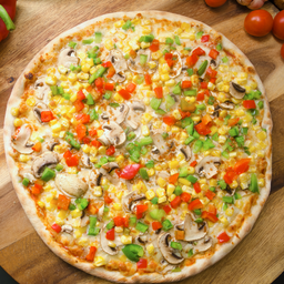 Pizza Griega Vegana Individual