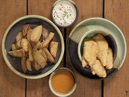 Fish and chips para 2 personas