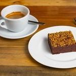 Café Espresso Doppio + Brownie