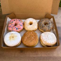 Caja Donuts Artesanal 6 Unidades