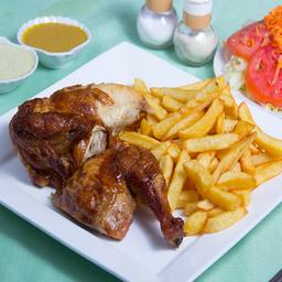 Promo 2 - 1/2 Pollo a Las Brasas