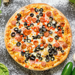 Pizza española individual