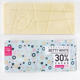 Betty White Chocolate Blanco sin Azúcar